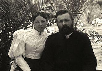 Frieda Strehlow - Frieda and Carl Strehlow