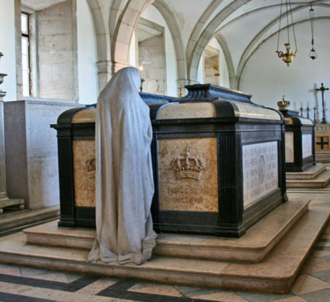 Pantheon of the House of Braganza - Tombs of Carlos I of Portugal and Luís Filipe, Prince Royal of Portugal