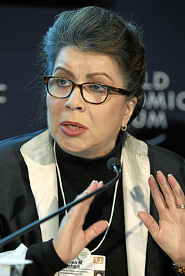 Carmen M. Reinhart - World Economic Forum Annual Meeting 2011.jpg