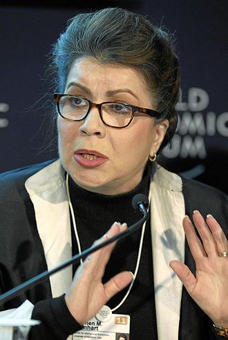 Institute for New Economic Thinking - Image: Carmen M. Reinhart World Economic Forum Annual Meeting 2011