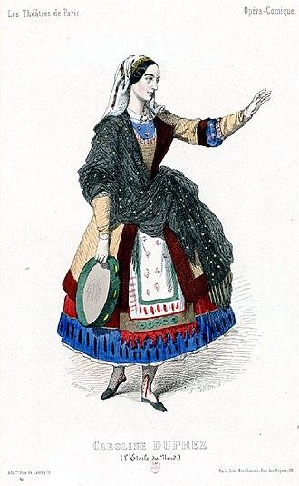 L'étoile du nord - Caroline Duprez as Catherine in the original production