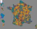 Carte Projet Illustration des communes françaises 08 07 2014.png