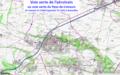 Carte de la voie verte de l'aérotrain.png