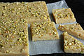 Cashew and cardamom fudge (5566702527).jpg