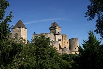 Dordogne - Image: Castelnaud d 5