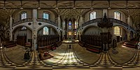 link=https://panoviewer.toolforge.org/#Castle Church of Lutherstadt Wittenberg (interior, full spherical panoramic image, equirectangular projection).jpg