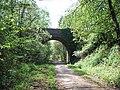 Castle Lane bridge over NCN 2 - geograph.org.uk - 2375832.jpg