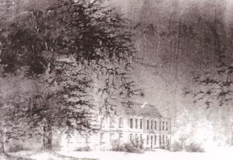 Thomas Carter (1690–1763) - Castle Martin in the snow