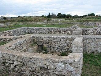 Potaissa (castra) - Image: Castra Potaissa 5