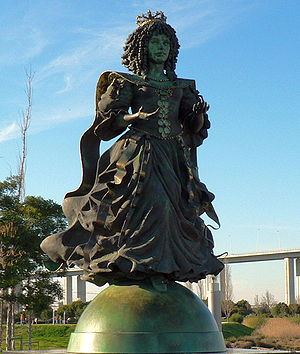 Statue in Lisbon, Portugal