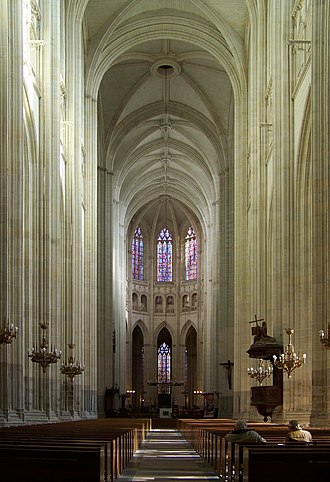 Nantes Cathedral - The nave
