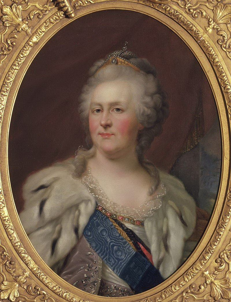 Catherine II of Russia after Lampi (c. 1780, Hillwood museum).jpg