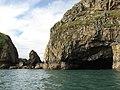 Cave on Ramsey Island - geograph.org.uk - 2056900.jpg