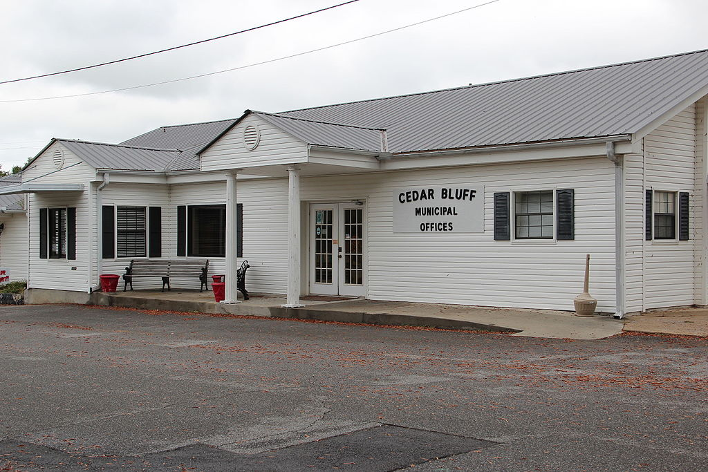 Cedar Bluff, Alabama City Hall.JPG