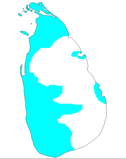 Location of Ceilão