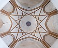 Ceiling of entrance of Fin Garden, Kashan, Iran.jpg