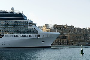 Celebrity Silhouette Saluting Battery Valletta.jpg