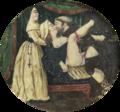 Cena erótica (séc. XIX) - miniatura sobre marfim, escola europeia.png