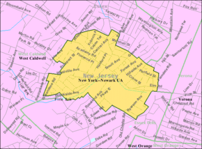 Census Bureau map of Caldwell, New Jersey.png