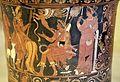 Cerchia del pittore di dario, loutrophoros con atlanta a il cinghiale calidonio, 330 ac ca, dalla tomba 33 a timmari 04.jpg
