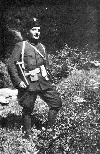 Vlado Chernozemski - Image: Cernozemski ustaska uniforma