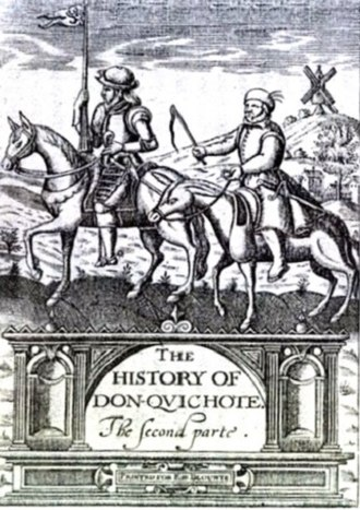 Thomas Shelton (translator) - Cover of Thomas Shelton's 1620 translation of Don Quixote