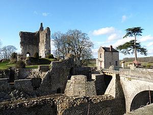 Orne - Image: Château de Domfront