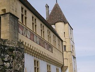 Château de Neuchâtel blasons.JPG