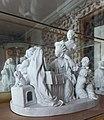 Château de Versailles, petit appartement de la reine (2e étage), salle à manger, La Toilette, Josse-François-Joseph Leriche d'ap. Louis Boizot 01.jpg
