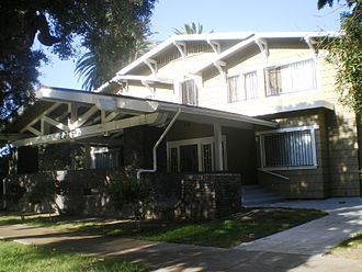 Frank M. Tyler - Chalet Apartments, 2375 Scarff Street, West Adams, Los Angeles.