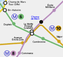 Champ de Mars (Paris Métro) - Wikipedia