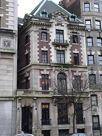 St. Anthony Hall - Hornbostel, circa 1899: Alpha Chapter, New York