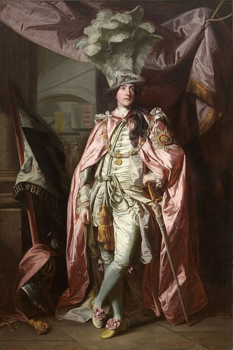 Charles Coote, 1st Earl of Bellomont - Portrait of Charles Coote, 1st Earl of Bellomont by Sir Joshua Reynolds