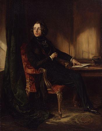 Charles Dickens, by Daniel Maclise (died 1870)...