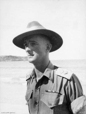 Charles Hercules Green - Charles Green in Wirui, New Guinea, in 1945.