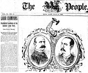 Charles H. Matchett - Charles H. Matchett and Matthew Maguire, The People, 19 July 1896