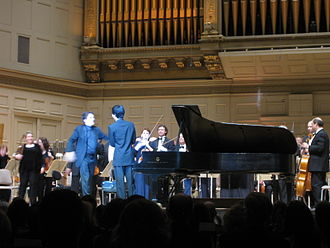 Charlie Albright - Keith Lockhart with Albright in May 2011