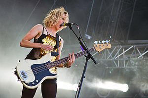 The Subways - Charlotte Cooper at the Southside Festival 2014