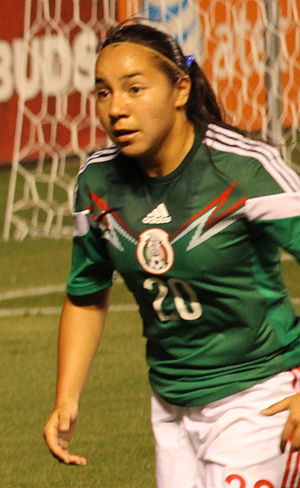 Charlyn Corral - Playing for Mexico in 2014