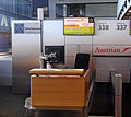 Checkin counter Austrian Airlines in Vienna 0070.jpg