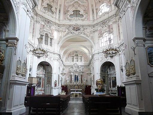 Cherasco-santuario madonna del popolo-navata