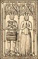 Chevalier et sa dame vauluisant bureler.jpg
