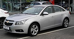 Chevrolet Cruze Sedan przed liftingiem