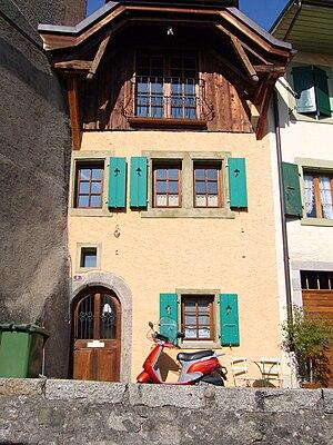 Chexbres - A house in Chexbres