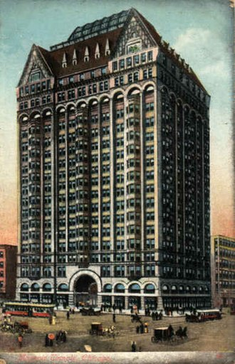 Daniel Burnham - Masonic Temple Building in Chicago
