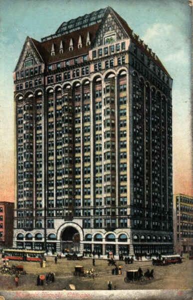 Chicago Masonic Temple Building