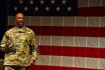 Chief Master Sgt. of the Air Force visit USASMA DSC 0082 (37504294882).jpg