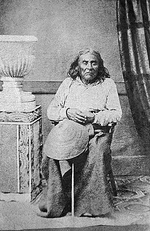 Chief Seattle - The only known photograph of Chief Seattle, taken 1864