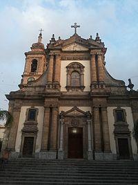 Facciata della chiesa di Maria Santissima Annunziata