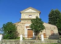 Chiesa della Purificazione di Maria Vergine (Santa Maria del Piano, Lesignano de' Bagni) - facciata 2 2019-06-26.jpg